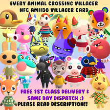 Animal Crossing New Horizons Dreamies Villager NFC Cards *FREE 1ST CLASS DELIV!*