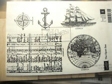 STAMPIN-UP BRAND'THE OPEN SEA' STAMPS IN NEW OLD STOCK CONDITION