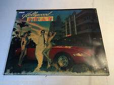 HollyWood Heat Gottlieb Pinball Backglass Translite On Glass Back Glass #154