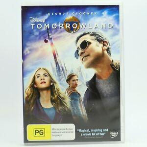 Tomorrowland (DVD, 2015) R4 Movie Good Condition Free Tracked Post AU