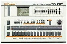 Roland TR-707 TR707 Rhythm Composer Analog Drum Machine Musical Instrument Japan