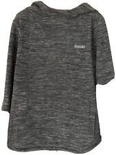 Quality Hooded Fleece Top Snowdonia Grey Size 16