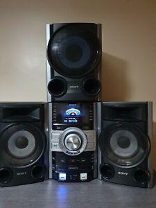 Sony MHC-GTZ3i HiFi Stereo Cd Player Multi Disc Pc Input Speakers + Subwoofer