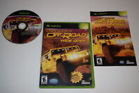 Test Drive Offroad Wide Open Microsoft Xbox Video Game Complete