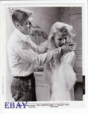 Carol Baker bites George Peppard VINTAGE Photo The Carpetbaggers