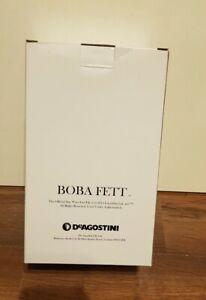 DeAgostini Official Star Wars Fact File Star Wars Boba Fett 8 inch Statue *RARE*