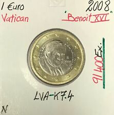 Vatican - 1 Euro 2008 - Pape Benoit XVI