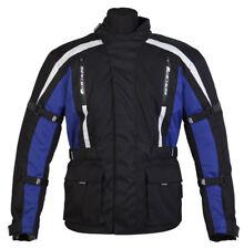 SPADA CORE MOTORCYCLE MOTORBIKE TEXTILE JACKET BLACK/BLUE