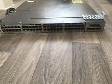 Cisco Catalyst WS-C3750X-48P-S 48-Port PoE GbE Switch w/ C3KX-NM-1G 715W PWR