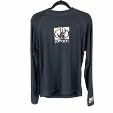 Body Glove Long Sleeve Surf Rash Guard Black 2Xl Mens Xxl
