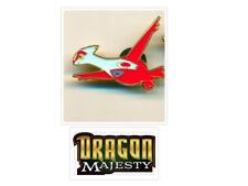 Dragon Majesty Latias Pin from Collection Box Pokemon TCG