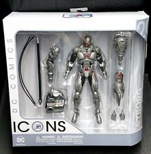"DC Comics Icons 6"" Deluxe CYBORG New! Batman/Superman/Justice League/Victor"