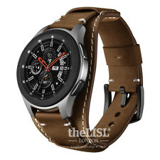 Samsung Galaxy Watch 46mm/Gear S3 Frontier/Classic Bands 22mm leather strap band