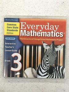 Everyday Mathematics Interactive Teacher's Lesson Guide Grade 3 Class Version