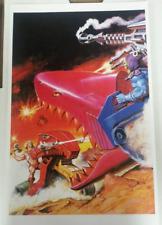 MOTU He-Man 2017 Powercon Exclusive Earl Norem Premium Print 11x17 Battle