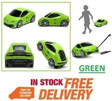 Official Lamborghini Huracan Green Kids Luggage Case Travel Trolley Suit Case