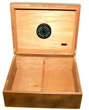 Cigar Box Humidor Humidifier Quality Importers Wood Cigar Case