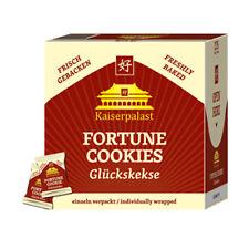 100 Glückskekse je 6g Text Deutsch, Englisch einzeln foliert Fortune Cookies