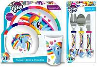 My Little Pony 6-Piece Dinner and Cutlery Set | Dinnerware | Tableware |Mealtime