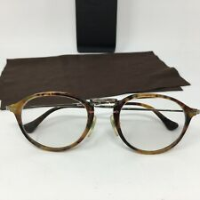 Persol 3046-V 108 Tortoise Eyeglass Frames 49-21-140  with Case - Made in Italy