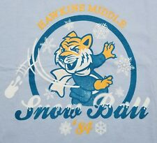 """Snow Ball"" Stranger Things Parody Men's XXL Shirt Teefury"