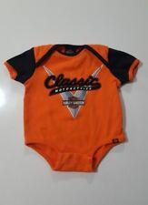 Harley-Davidson Newborn Baby Child One Piece Sz 3/6 Months