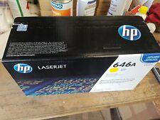 1 HP Toner CF032A Yellow NEU OVP B-Ware HP LaserJet CM4540 Rechnung MwSt