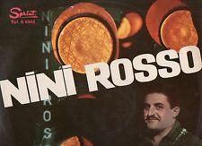 NINI ROSSO LP 33 giri NINI ROSSO E LA SUA TROMBA 1963 SPRINT