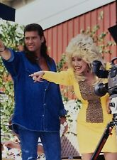 DOLLY PARTON & BILLY RAY CYRUS at Dollywood - Original 35mm COLOR Slide