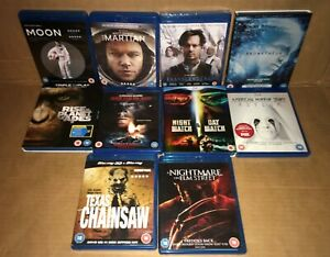 Blu-ray bundle Science Fiction and Horror - Joblot of Films Good Condition