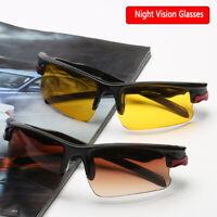 New HD Night Vision Lenses Unisex Driving Sunglasses Nice Glasses UV Protection