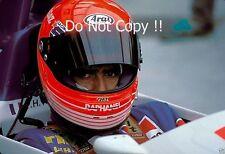 Pierre-Henri Raphanel Coloni F1 ritratto italiano GRAND PRIX 1989 Fotografia