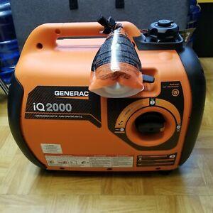 Generac iQ2000 2000W Portable Inverter Gas Generator Never Used