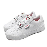 Puma Cali X Hello Kitty Wns White Red Womens Lifestyle Casual Shoes 372328-01