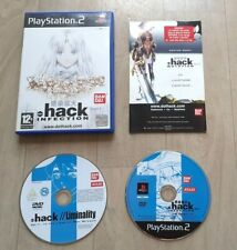 .hack Infection Part 1 - Sony Playstation 2 PS2 - Complet - PAL FRA - TBE