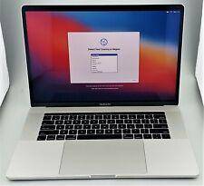 """Apple MacBook Pro Late-2016 Touchbar 15"""" i7-6700HQ 16GB 256GB SSD Silver Big Sur"""