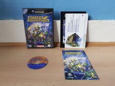 Starfox Adventures GameCube completa Inc rara tarjeta VIP en muy buena condición