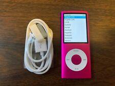Apple iPod nano 4th Generation Pink (8 GB) Bundle