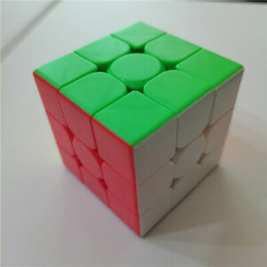 Magic Cube 3x3x3 Magic Rubiks Puzzle Rubics Rubix Toy Smooth Fast Speed Kid Gift