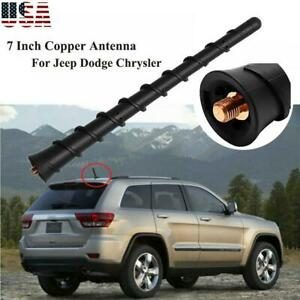 "7"" Rubber Antenna Mast For 2011-13 JEEP GRAND CHEROKEE Removable Brand Upgrade"