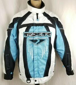 FXR Racing Women's Team RL Jacket Black/Blue Size 6 - XS Sled Snowmobile Winter