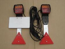 Anhängerbeleuchtung / Beleuchtungsatz verkabelt, 7,5 m Zuleitung, sehr robust