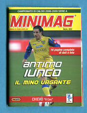 MINIMAG 2008-2009 N. 052 - ANTIMO IUNCO - CHIEVO