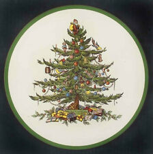 "SPODE CHRISTMAS TREE 10"" TRIVET in original box"