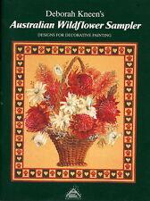 AUSTRALIAN WILDFLOWER SAMPLER DESGNS DECORATIV PAINTING