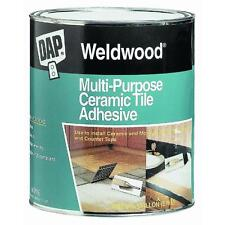 Quart Ceramic Tile Adhesive DAP 25190 quick grab for ceramic & mosiac tile 6PK