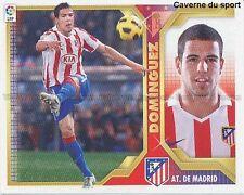 N°06 DOMINGUEZ ATLETICO MADRID STICKER CROMO PANINI ESTE LIGA 2012 ESPANA