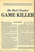 Sir St. George - The West's Greatest Game Killer -Irish