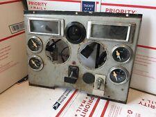 FORD L9000 L8000 L800 L900 DASH PANEL GAUGES DISPLAY FUEL VOLTS TEMP OIL GAUGE