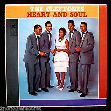 THE CLEFTONES-HEART AND SOUL-Mega Rare Doo Wop Album-GEE #G 705-A Top Copy!